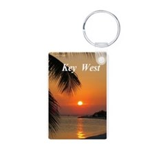 Sunset Key West Keychains
