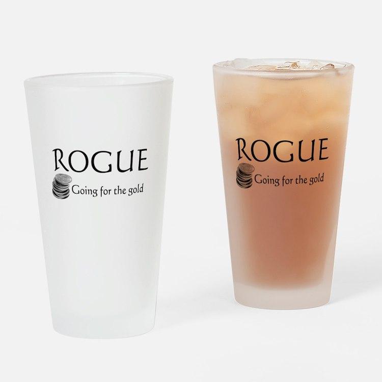 Roguegoinggoldblack.png Drinking Glass