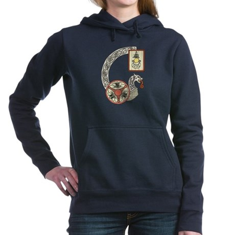 Celtic Shield Dragon Hooded Sweatshirt
