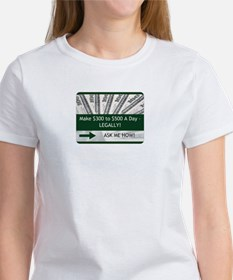 300 TO 500 A DAY ASK ME HOW T-Shirt