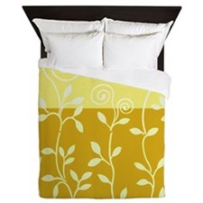 Vineri Queen Duvet   Gold Yellow