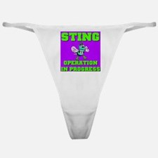 Sting Operation In Progress Classic Thong