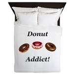 Donut Addict Queen Duvet