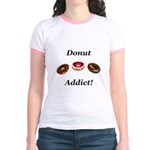 Donut Addict Jr. Ringer T-Shirt