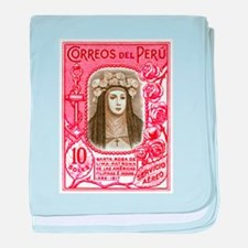 1936 Peru Saint Rose of Lima Postage Stamp baby bl