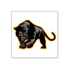 """Cute Panther Square Sticker 3"""" x 3"""""""