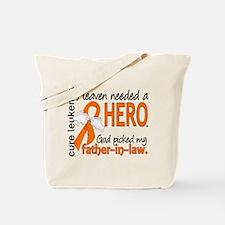 Leukemia Heaven Needed Hero 1.1 Tote Bag