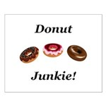 Donut Junkie Small Poster