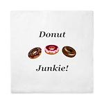 Donut Junkie Queen Duvet