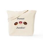 Donut Junkie Tote Bag
