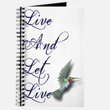 Live and Let Live Journal