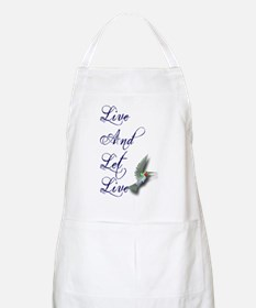 Live and Let Live Apron