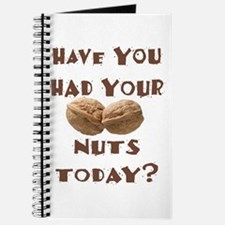 Have You Had Your Nuts Today? Journal