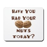 Have You Had Your Nuts Today? Mousepad