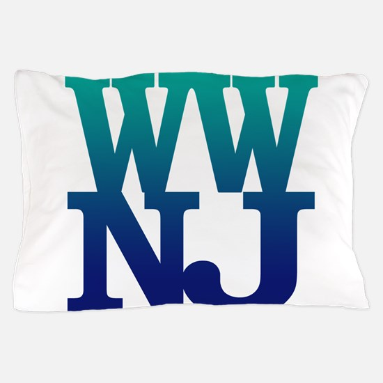 Greetings from Wildwood, NJ Pillow Case