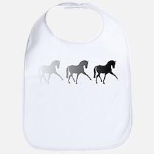Dressage Horse Sidepass Ombre Bib