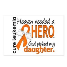 Leukemia Heaven Needed He Postcards (Package of 8)