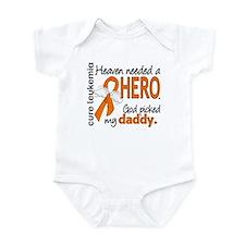 Leukemia Heaven Needed Hero Infant Bodysuit