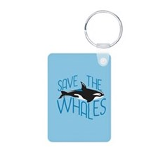 Save the Whales Keychains