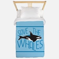 Save the Whales Twin Duvet