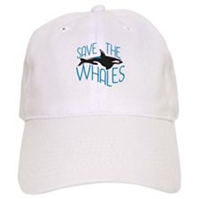 Save the Whales Baseball Cap