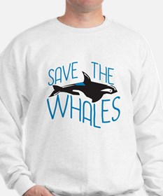 Save the Whales Jumper