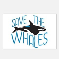Save the Whales Postcards (Package of 8)