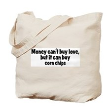 corn chips (money) Tote Bag