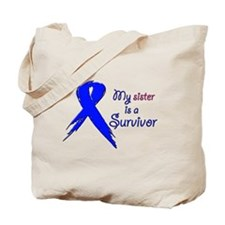 My sister is a survivor Tote Bag