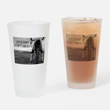 GRIP IT AND RIP IT Drinking Glass