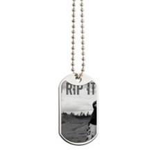 GRIP IT AND RIP IT Dog Tags