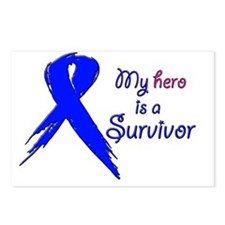 My hero is a survivor 2 Postcards (Package of 8)