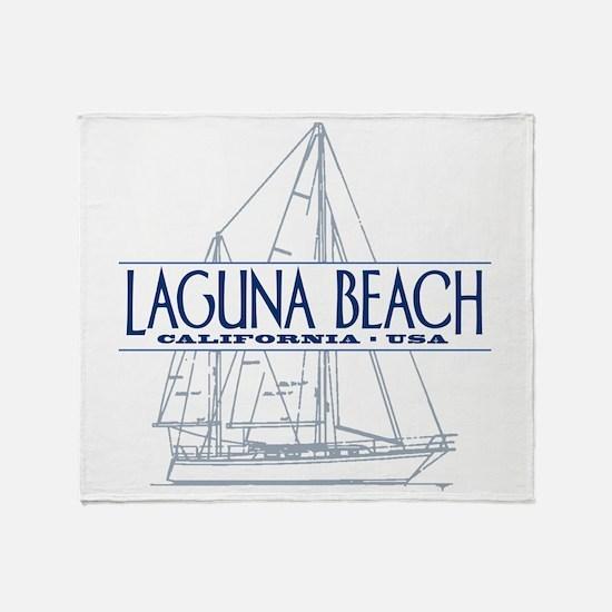 Laguna Beach - Throw Blanket
