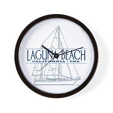 Laguna Beach - Wall Clock