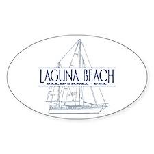 Laguna Beach - Decal