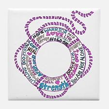 The Life Saver Tile Coaster