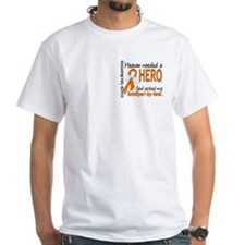 Leukemia Heaven Needed Hero Shirt