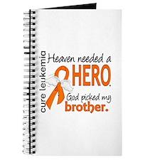 Leukemia Heaven Needed Hero Journal