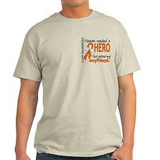 Leukemia Heaven Needed Hero 1.1 T-Shirt