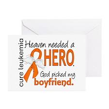 Leukemia Heaven Needed H Greeting Cards (Pk of 20)
