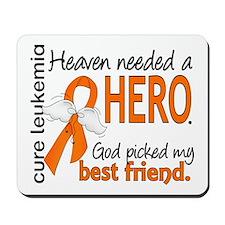 Leukemia Heaven Needed Hero Mousepad