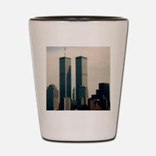 World Trade Center Shot Glass