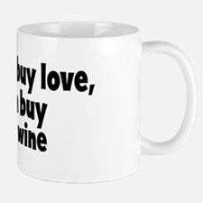 sparkling wine (money) Mug