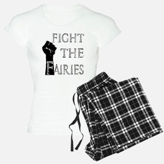 fight the fairies (light) Pajamas