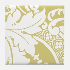 Acantha, French Green Tile Coaster