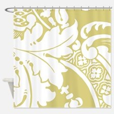 Acantha, French Green Shower Curtain