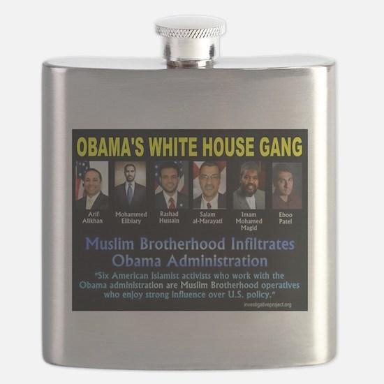 Obamas Gang Flask