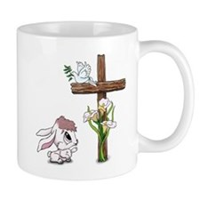 Easter Bunny Cross Mugs