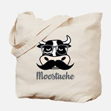 Moostache Tote Bag