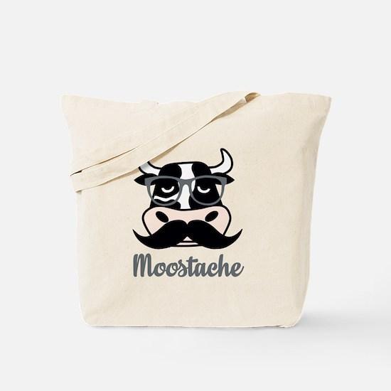 Moostache Tote Bag